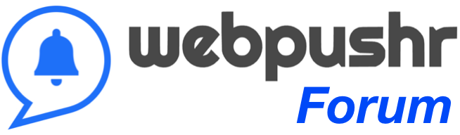 Webpushr Forum